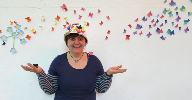 Butterflies on Sue